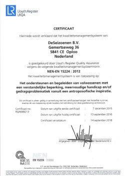 certificeringkwaliteitveiligheid