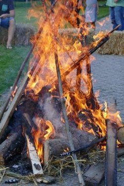 het vuur
